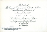 Invitation to James Brown Scott